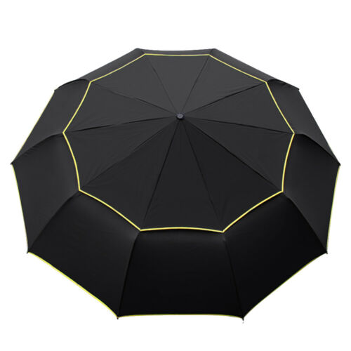 Large Oversize Golf Umbrella Windproof Rain Sun Anti UV Fold