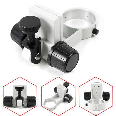 76mm Stereo Microscope Adjustment Focus Arm Head Holder Ring Arbor Stand Bracket