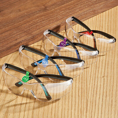 FastCap Bifocal Safety Glasses, +3.0
