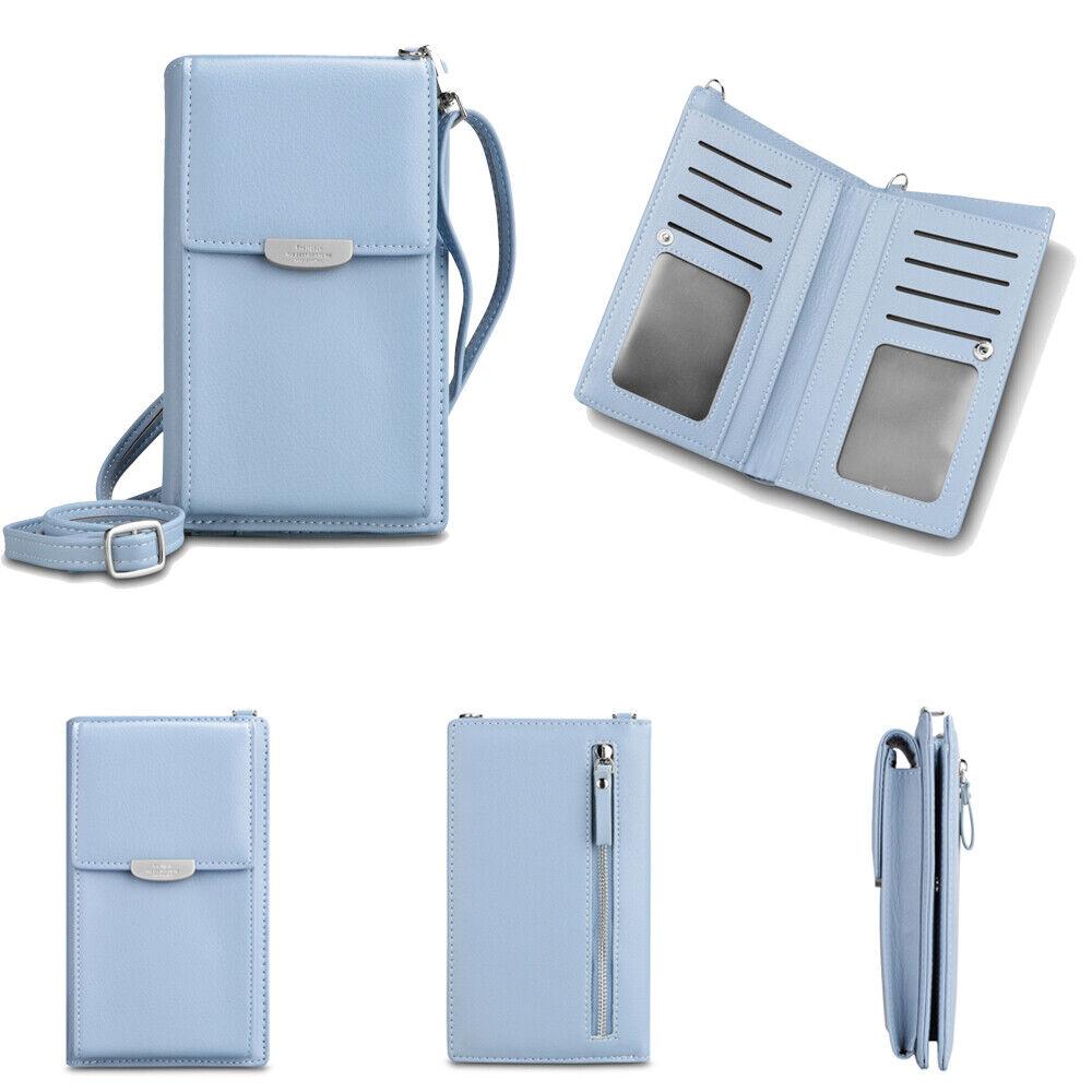 Crossbody Cellphone Purse Women Bag RFID Blocking Wallet Handbag Shoulder Strap Clothing, Shoes & Accessories