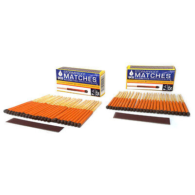 Uco Stormproof Matches Twin Pack  50 Matches  Emergency Disaster Survival New