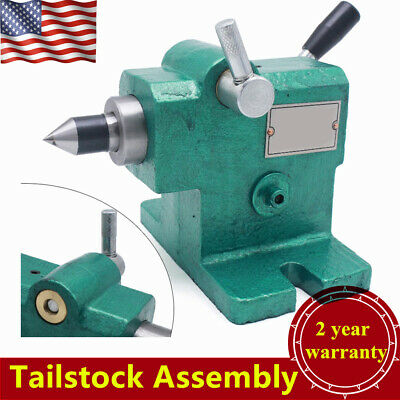 Lathe Tailstock Assembly Diy Expansion Spindle Tailstock Tip Mt3 Usa Stock