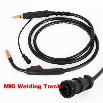 New Mig Welding Gun Torch Stinger 10ft Replacement Miller M-10 M-100 Gun 100a
