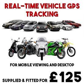 Tracker Vehicle Van Car Truck Bike Motorbike Tracking Security Live GPS Tracker Install Fitting