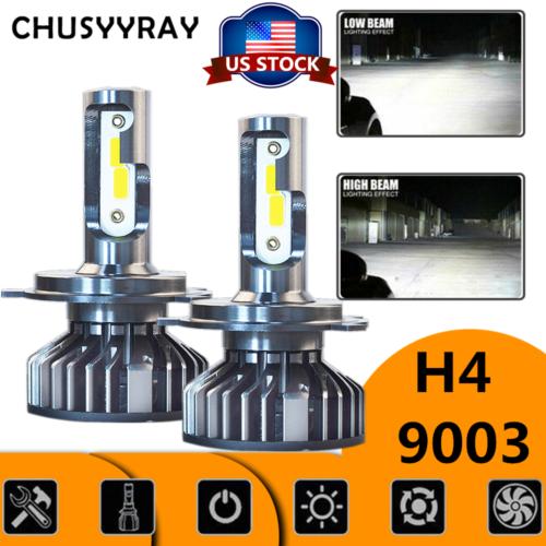 H4 LED Headlight Bulbs For Arctic Cat Proclimb M1100 M800 Procross F1100 F800 XF