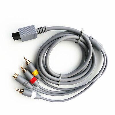 New 6 ft AV TV S-Video SAV CABLE for Nintendo Wii /...