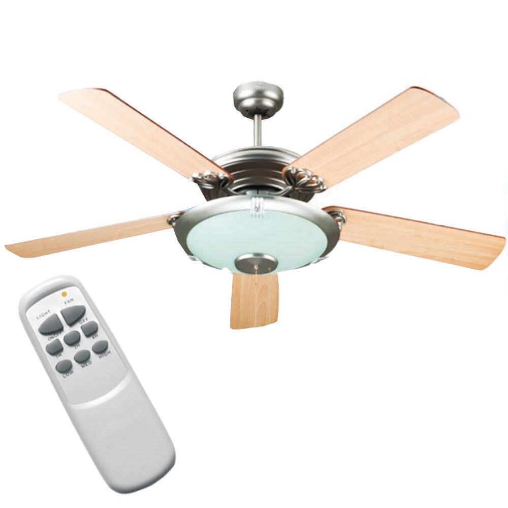 Ventilatore a soffitto da parete telecomando luce lampada Dcg VECRD50TL - Rotex