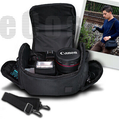 Digital Camera Carrying Bag Case For Canon EOS Rebel T6i T6s T7 T7i 750D 760D