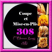 Coiffeuse/Hairstylist En Auteuil/Vimont*PROMOTION