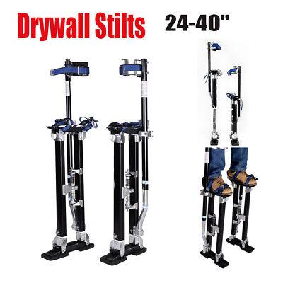 Drywall 24-40 Stilt Aluminum Tool Painting Painter Taping Strap Finishing Balck