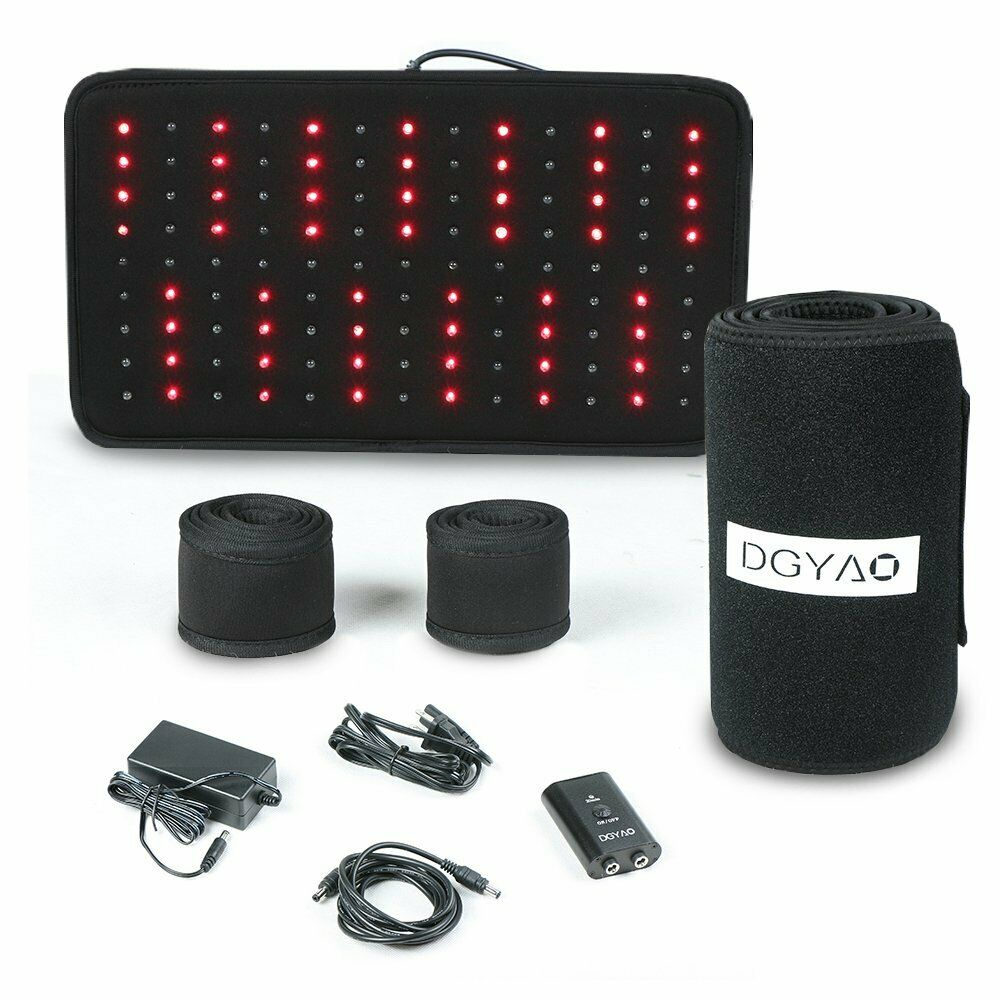 DGYAO Red Light Near Infrared Therapy Led Benefits Back Pain