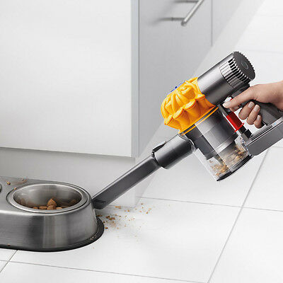 Dyson V6 Top Dog Handheld Cordless Vacuum with Mini-Motorized Tool & 15 Cyclones