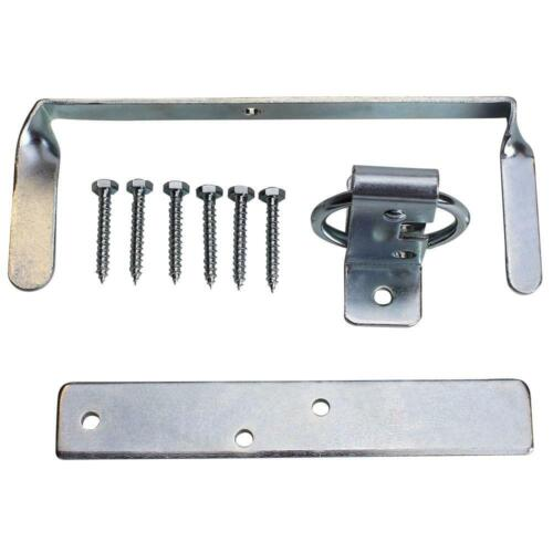 Everbilt Double Zinc Plated Large Ring Gate Latch