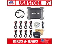 HANTEK 1008C MRCARTOOL Hantek 1008B//1008C PC USB 8CH Automotive Diagnostic Digital Oscilloscope//DAQ//Programmable Generator Automotive Diagnostic Scope