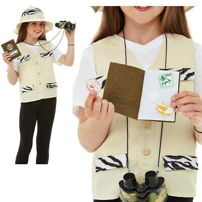 Safari Jungle Explorer Kids Costume Zoo Keeper Book - Zoo Keeper Outfit