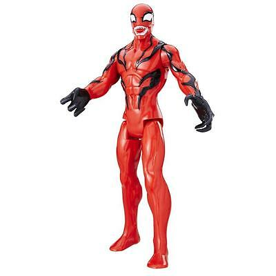 Marvel Spider Man Titan Hero Series Villains Carnage Figure