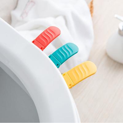 Bathroom Plastic Toilet Seat Cover Lifter Lifting Device Handle Convenient (Convenient Lifting Handles)