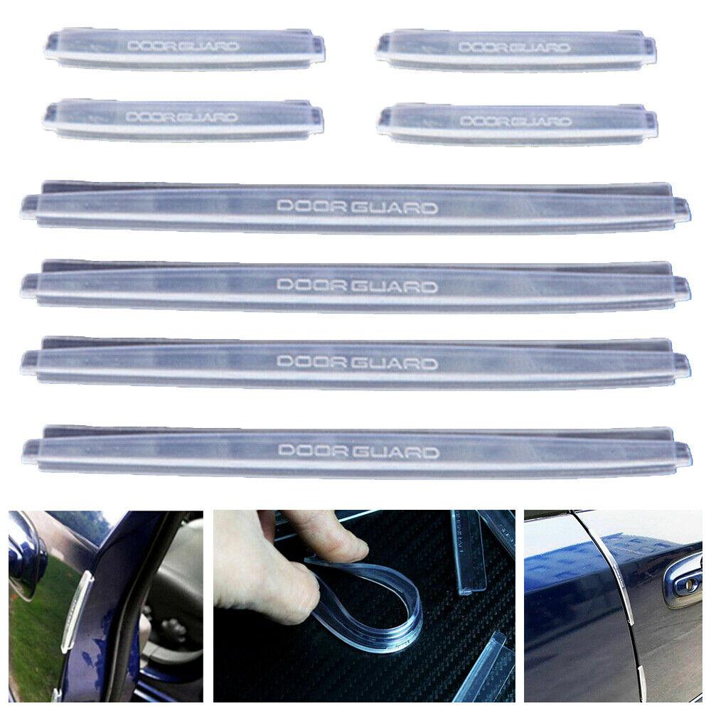 8Pcs Car Door Protector Edge Guard Strip Scratch Anti-collision Accessories