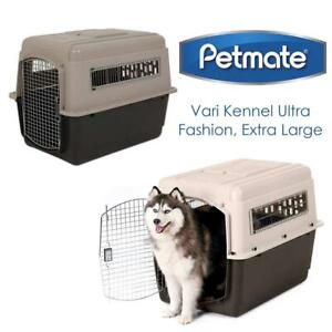 NEW Petmate 21554 Vari Kennel Ultra Fashion, Extra Large (Bleached Linen/Coffee Grounds) Condtion: New, X Large
