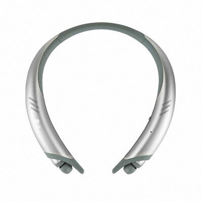 LG TONE Active HBS-A100 Bluetooth Wireless Stereo Headset Externl Speaker Silver