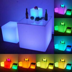 Waterproof Outdoor LED Cube Lights Décor - 40cm