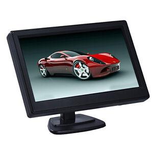 5 Inch 800X480 High Resolution DC 12V HD Car TFT LCD Monitor Screen 2ch Video