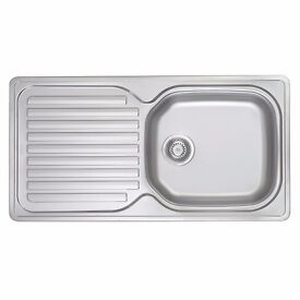 FRANKE ELBA KITCHEN SINK STAINLESS STEEL 1-BOWL 965 X 500MM