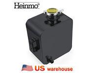 Aluminium Engine Coolant Water Overflow Tank for Nissan 09-14 GT-R R35 Black