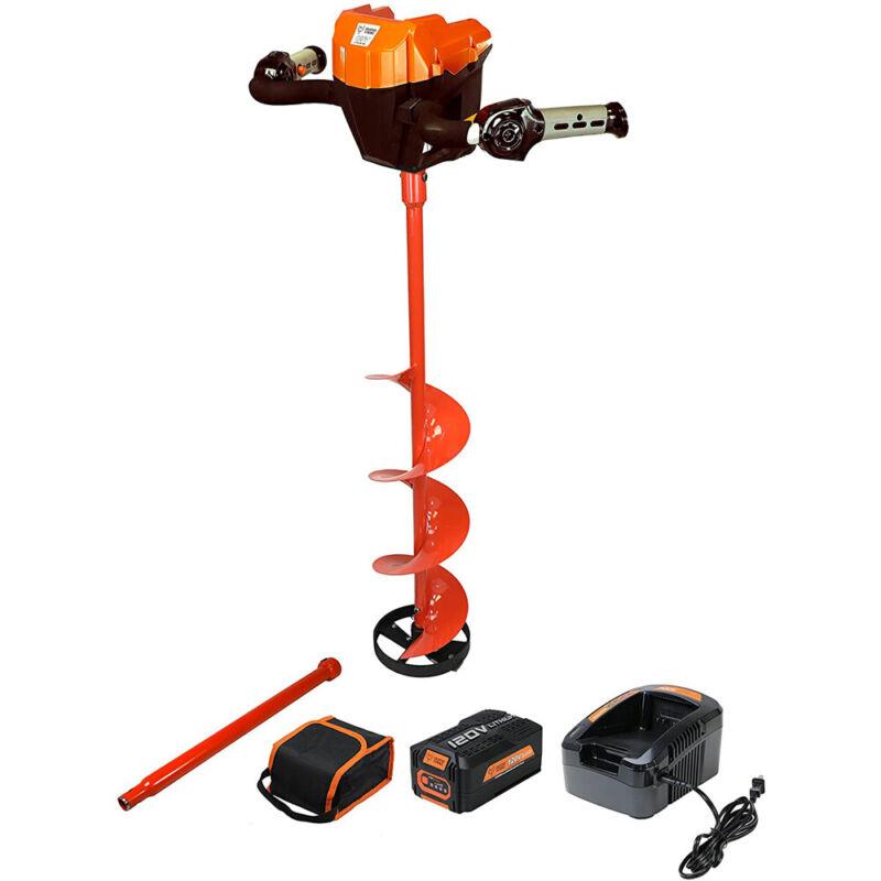 """120V Lithium Ion 8"""" Ice Auger Kit Trophy Strike 106482 1-5735"""