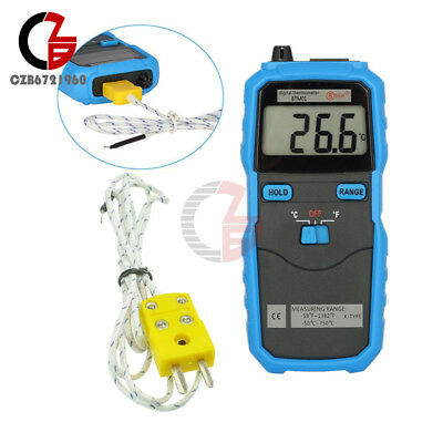 Btm01 Bside 1.77in 2-channel Handhold K-type Digital Temperature Thermometer