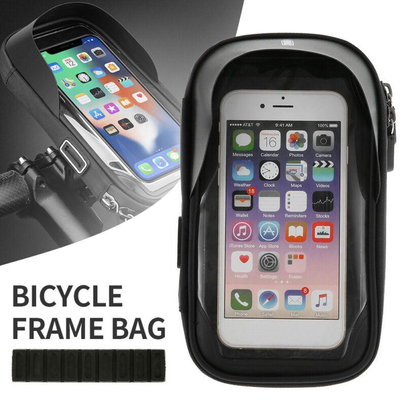 Fahrrad Halterung Handy Fahrradtasche Rahmentasche Halter Motorrad für 4.5-6.4