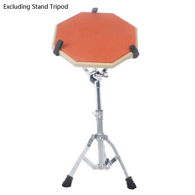 Rubber Wooden Dumb Drum Practice Training Drum Pad for Percussion US(No Stand)