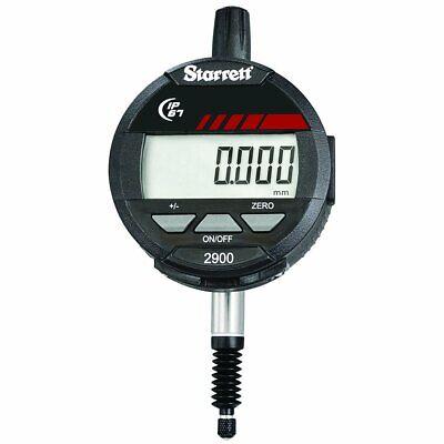 Starrett 2900-1m Lcd Electronic Indicator 8mm Stem Dia. 0-12mm Range 0.001mm