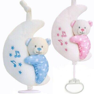 Keel Toys Musik Spieluhr Plüschtier Bärchen für Baby und Kleinkind zum aufhängen