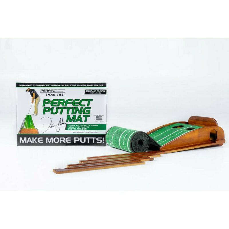 NEW Perfect Practice Golf Putting Mat - Choose Standard, Compact or XL Edition!