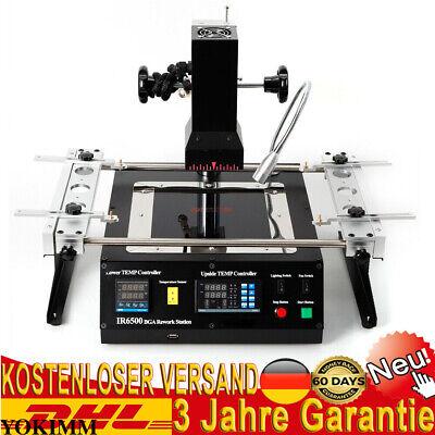 220v Ir6500 Bga Rework Station Repair Heating Infrared Reballing Machine 1250w