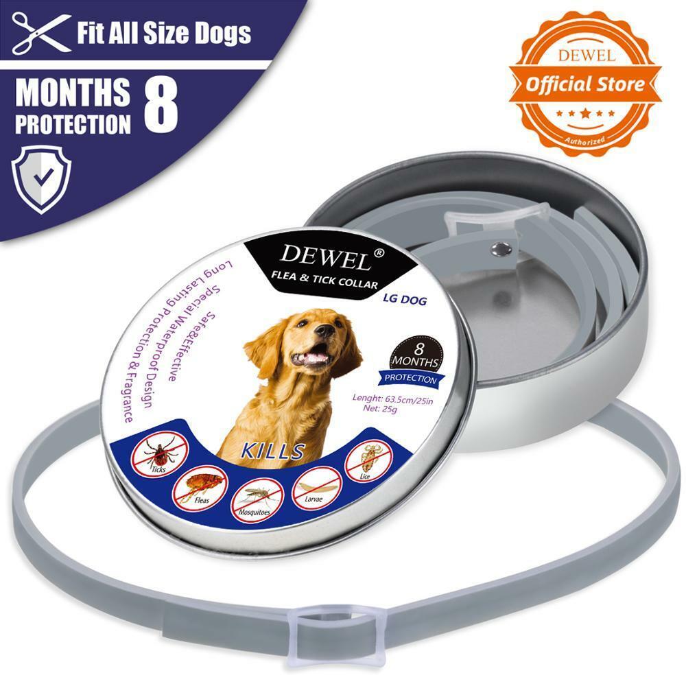 Dewel Dog Cat Pet Collar Anti Flea Tick Mosquitoes Insect fo