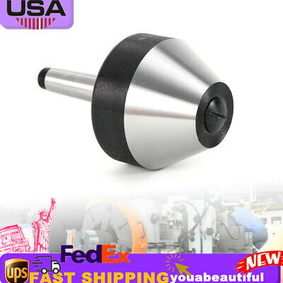 Us Mt2 Bull Nose Live Center Morse Taper 2 For Lathe Dia 74mm Fast Shipping