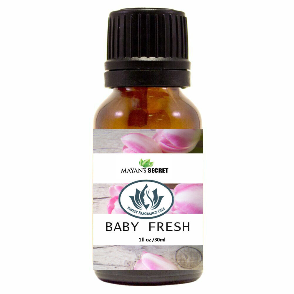 Mayan's Secret-Baby Fresh- Premium Grade Fragrance Oil (30ml) Candle Making & Soap Making