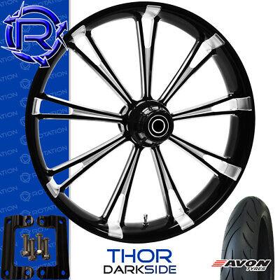 Rotation Thor DarkSide Motorcycle Wheel Kawasaki Vaquero Vulcan Package 21