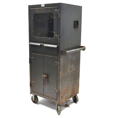 Strong Hold 25-cc-242-rk-cag Mobile Industrial Computer Cabinet 26 X 24 X 60