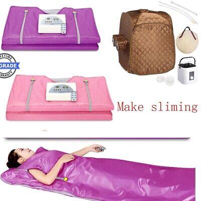 Folding Steam Sauna Spa/Sauna Blanket Detox Therapy Body Shape Slimming Fitness