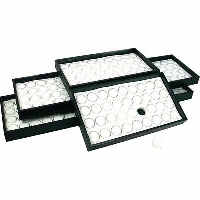 6-36 White Gem Jar Display Gemstone Jewelry Insert Tray