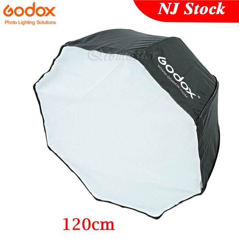 """US Godox 47"""" 120cm Octagon Umbrella Softbox for Studio Camera Flash Speedlite"""