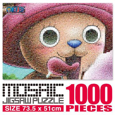 1000Pieces  Jigsaw Puzzle  One Piece Animation - Chopper  Mosaic Art