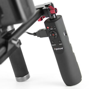 Aputure VG-1 USB Follow Focus & Lens Controller Handle V-Grip for Canon DSLR Rig