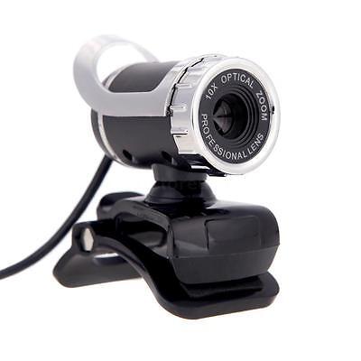 New 50 Megapixel Hd Camera Web Cam 360  W Mic Clip On For Desktop Skype Computer