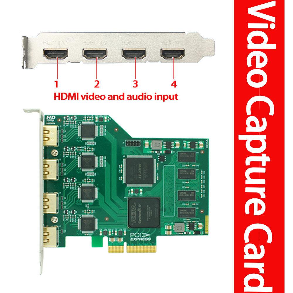 Quad HDMI input 1080P@60fps  OBS /VMix /PS4 Live streaming v