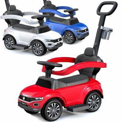 Kinderauto Schiebeauto Rutscher Rutschauto Car zum Schieben Lenkstage VW T-Roc