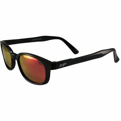 MF Lockdown Motorcycle Riding Glasses Black Frames G-Tech Reflective Red (Tech Glasses Frames)